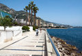 Monaco promenade monte carlo may larvotto on may in monte carlo larvotto is a part of the district of monte carlo in the Royalty Free Stock Photos