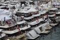 Monaco, spectators during the F1 Grand Prix 2012 Royalty Free Stock Photo