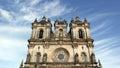 Monastery of alcobaça alcobaça portugal the Royalty Free Stock Images
