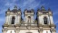 Monastery of alcobaça alcobaça portugal the Stock Images