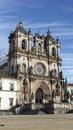 Monastery of alcobaça alcobaça portugal the Stock Photo