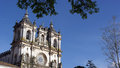 Monastery of alcobaça alcobaça portugal the Royalty Free Stock Photography