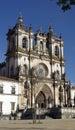 Monastery of alcobaça alcobaça portugal the Stock Photos