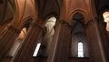 Monastery of alcobaça alcobaça portugal church Royalty Free Stock Photo