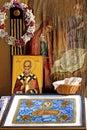 Monastery Altar Royalty Free Stock Photography