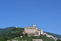 Monastery and Basilica of San Francesco in Assisi Royalty Free Stock Photo