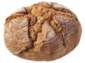 Monastery Bread Loaf Isolated On White Background Royalty Free Stock Photo
