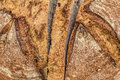 Monastery Bread Loaf Sliced Detail Royalty Free Stock Photo