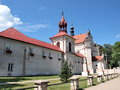 Monastery and church, Krasnobrod, Poland Royalty Free Stock Photos