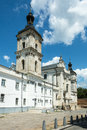 Monastery of discalced carmelites in berdychiv ukraine with church the immaculate conception klasztor karmelitow bosyh w Royalty Free Stock Images