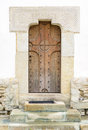Monastery door Royalty Free Stock Photo