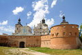 Monastery - Fortress of Carmelites, Berdychiv Stock Photography