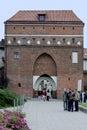 Monastery gate of Torun in Poland Royalty Free Stock Photo