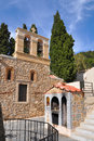 Monastery of Kera Kardiotissa. Crete, Greece Royalty Free Stock Image