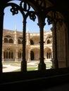 Monastery in Lisbon Stock Image