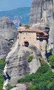 Monastery at Meteora, Greece Royalty Free Stock Photography