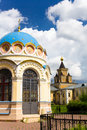 Monastery in Moscow region Royalty Free Stock Photography