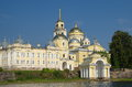 The monastery of Nilo-Stolobensky deserts in the Tver region, Russia Royalty Free Stock Photo