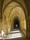 Monastery of Poblet Royalty Free Stock Photos