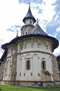 The monastery putna romania from moldavia Royalty Free Stock Photos