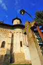 Monastery of Saint John in Suceava, Romania Royalty Free Stock Photo