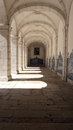 Monastery of saint vincent cloister lisbon portugal the Stock Image