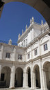 Monastery of saint vincent cloister lisbon portugal the Royalty Free Stock Photos