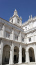 Monastery of saint vincent cloister lisbon portugal the Royalty Free Stock Image