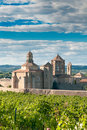 Monastery of Santa Maria de Poblet, Spain Stock Images