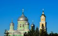 Monastery in the of st diveevo in nizhny novgorod Stock Photography
