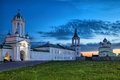 Monastery of St. Jacob Saviour in Rostov Royalty Free Stock Photo