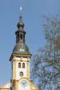 Monastery tower Neuzelle Royalty Free Stock Photo