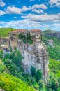 Monastery of Varlaam at Meteora, Greece Royalty Free Stock Photo