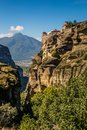 The Monastery of Varlaam - Meteora, Greece Royalty Free Stock Photo