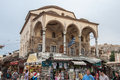 Monastiraki Square Athens Stock Photography
