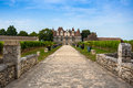 Monbazillac Castle with vineyard, Aquitaine, France Royalty Free Stock Photo