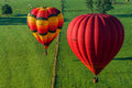 Mondial hot Air Ballon reunion in Lorraine France Royalty Free Stock Photos
