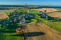 Mondial hot air ballon reunion in lorraine france chambley august august chambley Stock Image
