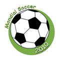 Mondial soccer 2010 Royalty Free Stock Images