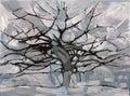 Mondrian Gray Tree