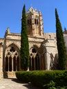 Monestir de Santa Maria de Vallbona, Lleida ( Spain ) Royalty Free Stock Photos