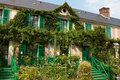Monet's house Stock Photography