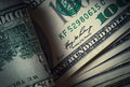 Money american bills the hundred dollar Royalty Free Stock Images
