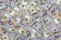 money 100 american hundred dollar bills Royalty Free Stock Photo