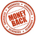 Money back guarantee Stock Photos