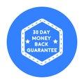 Money Back Guarantee Icon In B...