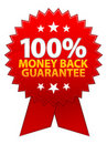 Money Back Guarantee Ribbon / EPS Stock Photography