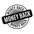 Money Back rubber stamp Royalty Free Stock Photo