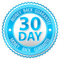 Money back sign Royalty Free Stock Photography
