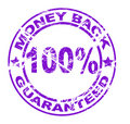 Money back stamp (vector) Royalty Free Stock Photography